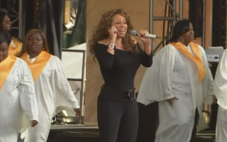 Mariah Carey on Oprah Show