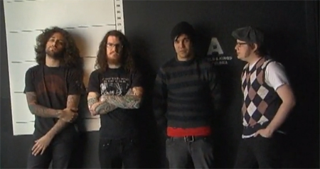 Fall Out Boy (Patrick Stump, Pete Wentz, Joe Trohman, and Andy Hurley)